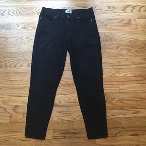 Paige Verdugo Ankle Skinny Jeans Dark Wash